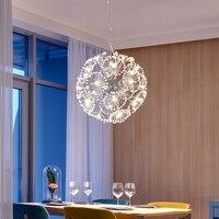 Modern LED kristal kolye lamba karahindiba avize aydınlatma armatürü yemek odası yatak odası Lustres de Cristal AC110V ~ 240V