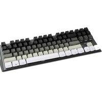 87 White Gray Black Mixed OEM Profile Keycaps 87 61 Key Side Print Blank Keyset Thick PBT For MX TKL Mechanical Keyboard GH60 XD60 (3)