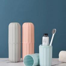 Зубная щётка для хранения чашки Портативный прочный нежный материал изысканный моющихся чашек органайзер для зубной щетки для кемпинга Пеший Туризм путешествие