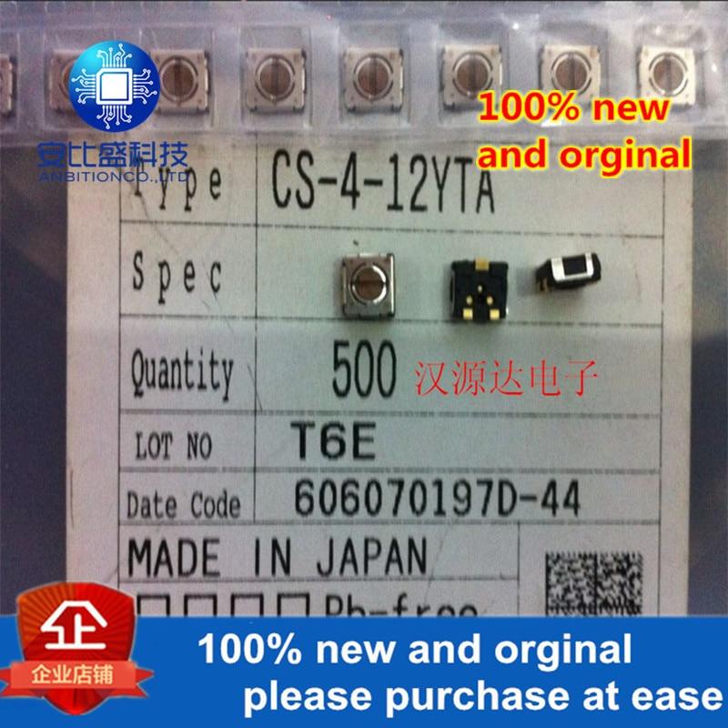 2pcs Original NEW CS-4-12YTA 5X4.5X2.3MM SMD Rotary Selector Switch