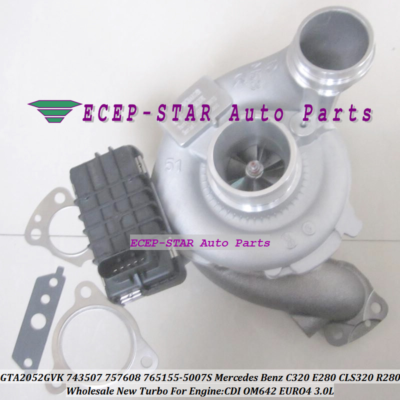 Klasse 320 CDI  765156-5007S A6420900180 TOP E Mercedes  Turbolader  C S