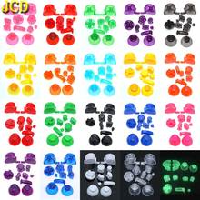 JCD 20 Set L R ABXY Z Keypads Buttons for GameCube Game for NGC Controller D Pads Power ON OFF Buttons & Joystick Stick Cap