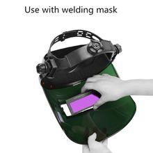 Solar Auto Verdunkelung Schweiß Helm Augen Protector Schweißer Kappe Brille Maschine Cutter Löten Maske Filter Objektiv Werkzeuge