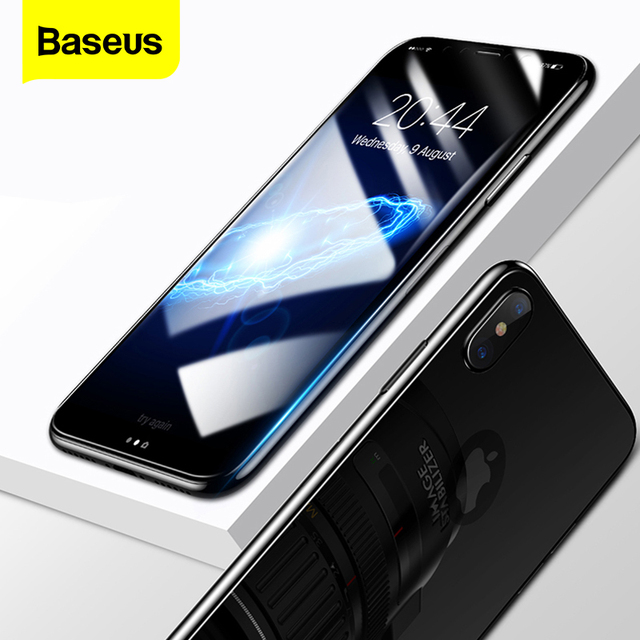 Закаленное стекло Baseus для iPhone X 10 1