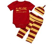 Комплект одежды для новорожденных мальчиков и девочек, 2019 г., летний комплект одежды для маленьких мальчиков: Топ + штаны + шапочка