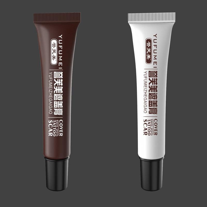 2 Pcs Skin Make-up Concealer Cream Tattoo Scar Birthmark Cover-up Cream CJ666