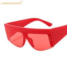 Солнцезащитные очки в полуоправе longkeeper винтажные брендовые