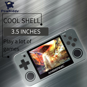 Image 3 - Powkiddy RG350 Handheld Game Console RG350M Metal Shell Console Open Source System 3.5 Inch IPS Screen Retro Ps1 Arcade 3D Games