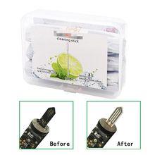 30 unids/caja de bastoncillos de algodón de doble cabeza para herramientas de limpieza IQOS 2,4 Plus