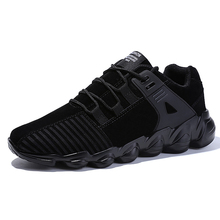 Men Luxury Brand Running Shoes Comfortable Sports Outdoor Sneakers Male Athletic Breathable Footwear  Walking Jogging ecco fashion brand men s casual shoes cow leather walking footwear round head breathable comfortable outdoor sneakers shoes