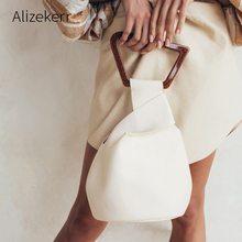 Acrylic Handle Irregular Handbag Women 2019 New Fashion Famous Brand Designers P
