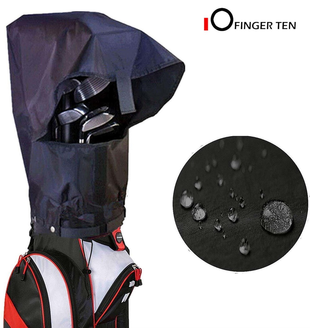 Golf Bag Rain Cover Waterproof Hood Protection Durable Lightweight Club Bags Raincoat For Men Women