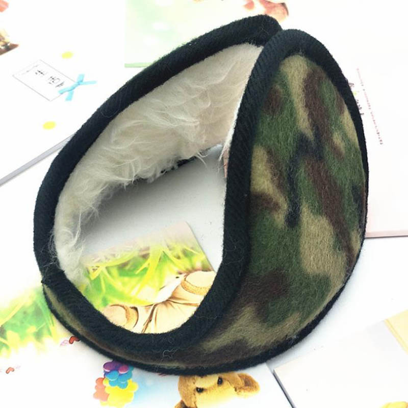 Calymel 2019 Hot Fashion Unisex Winter Earmuffs Soft Thicken Plush Ear Cover Protector Warmer Earflap Ear Muff Wrap