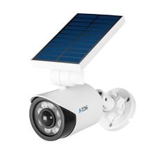 Solar Light Dummy CCTV Surveillance Camera Motion Sensor Waterproof Outdoor False Fake Security Bullet Imitation Camera