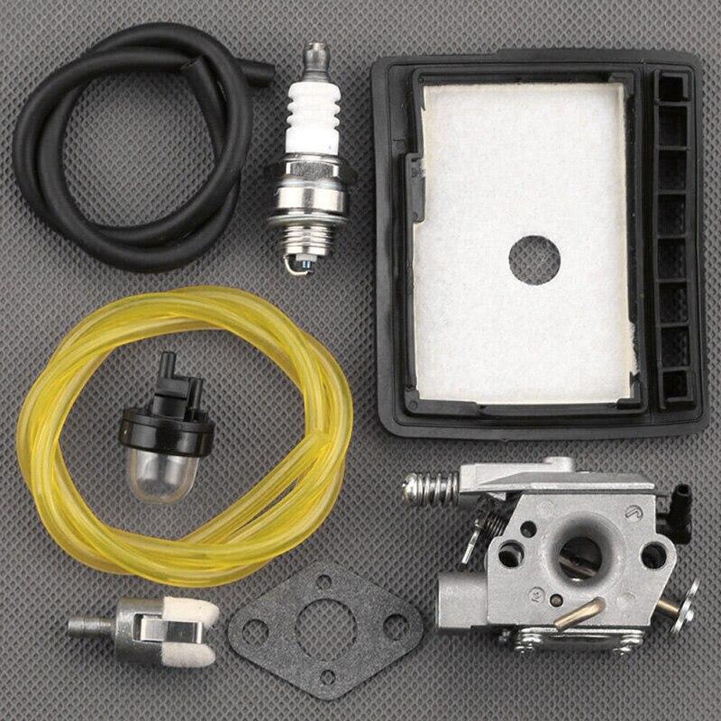 8Pcs Durable Chainsaw Carburetor Carb Kit Fit ForCS-3000 CS-3400 WT-589 WT-402 WT-589-1 Chainsaw Echo Carburetor
