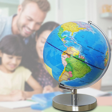 World Map USB Powered LED Light Desktop Decoration School Supplies Geography Home Earth Globe Educational Toy Teaching Aids