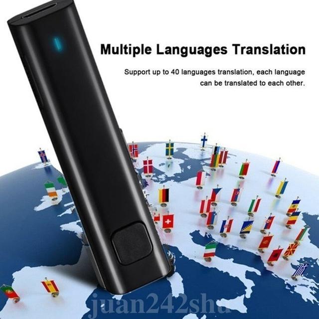 1Pc Wireless Headphones Smart Translation Earphones For travel and Business Bluetooth Earphone 26 Languages Translation Headset