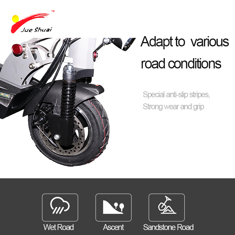 500W 48V 10inch Electric Scooter With Optional Battery for Long Distance 1