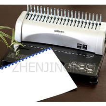 Clip-Aprons Binding-Tools Document Manual-Punching Finance Comb Only Single-Handle A4