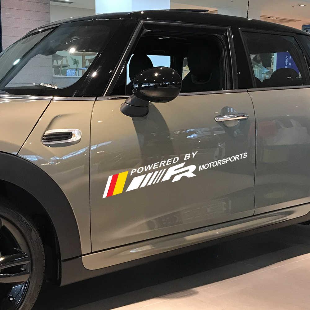 2 قطعة باب السيارة الجانب الفينيل ملصقات ل مقعد FR ليون MK3 MK2 إيبيزا 6J 6L Altea Ateca توليدو 2 3 1 4 السيارات ديكور الشارات اكسسوارات