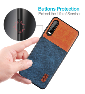 Image 5 - Mofi For Huawei P30 Pro Case huawei p30  P30 Lite Cover Housing  Silicone  shockproof jeans PU leather TPU