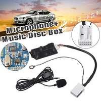 Per auto bluetooth AUX Cavo Per Audi A3 A8 A4 TT TTS R8 Octavia Seattle Audio Radio Stereo AUX-IN Adattatore di Linea microfono Ricevitore