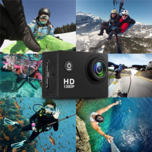 Waterproof Sport Pro Camera Suit DV DVR Full HD Action Camera Sport Camcorder  Ultra HD 4K WiFi Remote Control Camcorder цена 2017
