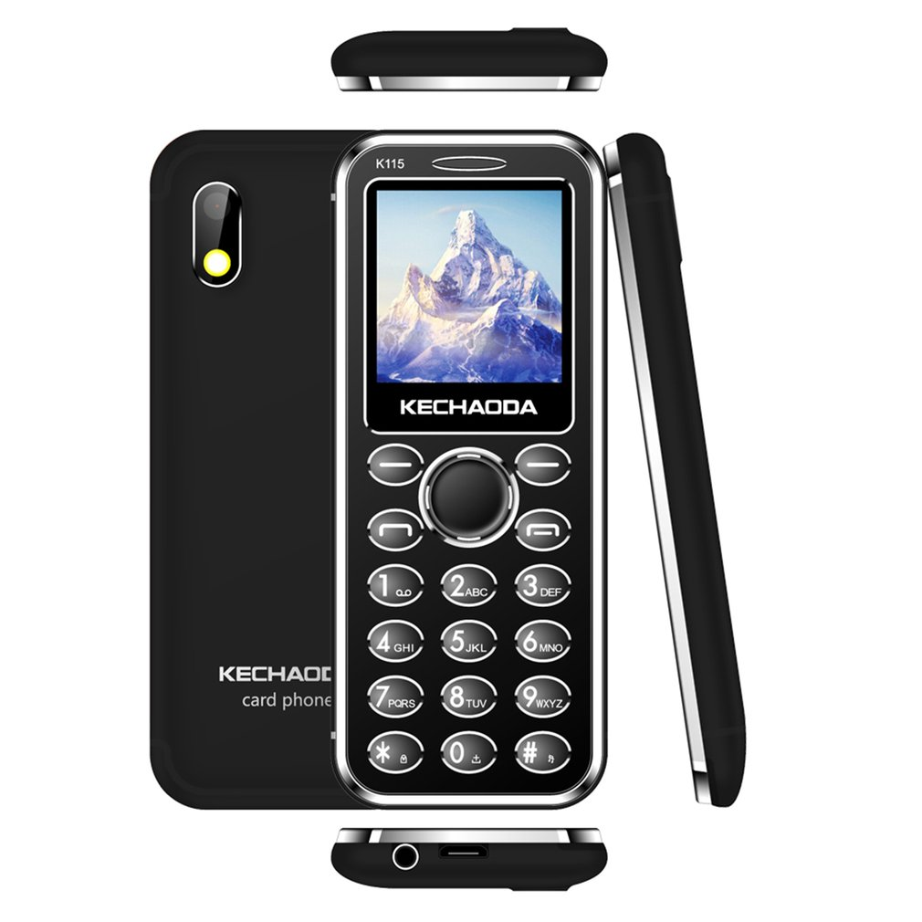 Sper Slim Card Phone Blueteach KECHAODA Monblie Phone K116 Plus 2G  1.8
