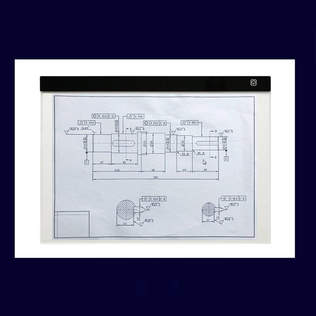 Светодиодный цифровой таблетки коробка Сид светлая сенсорное управление затемнения чертежа трассировки копия доска анимация настольный коврик панель
