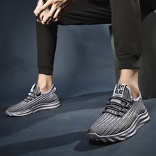 2019 New Men Sneakers Tenis Masculino Breathable Casual No-Slip Men Vulcanize Shoes Male Air Mesh Lace Up Wear-Resistant Shoes