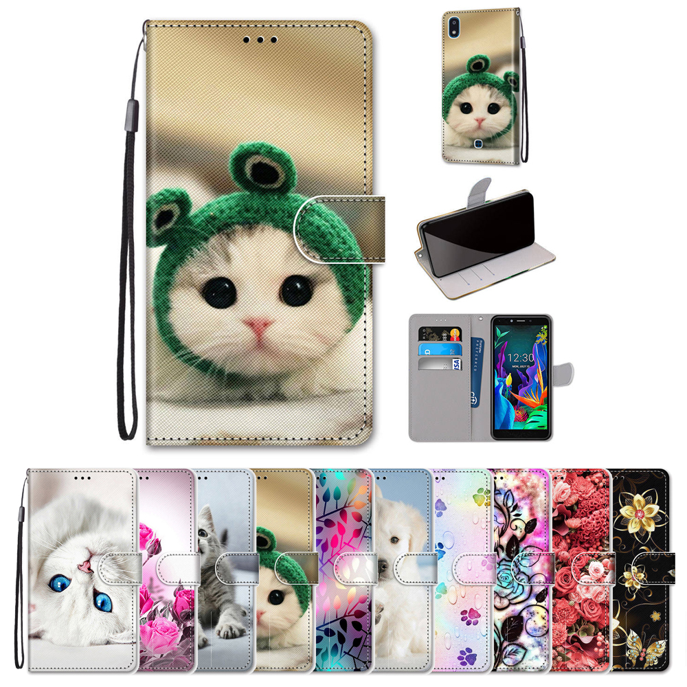 PU Leather Flip Case For Meizu M8 X8 V8 Pro Cover Cute Animal Patterned Coque For Meizu Meilan Meiblue V8 Pro M8 X8 Case Cover