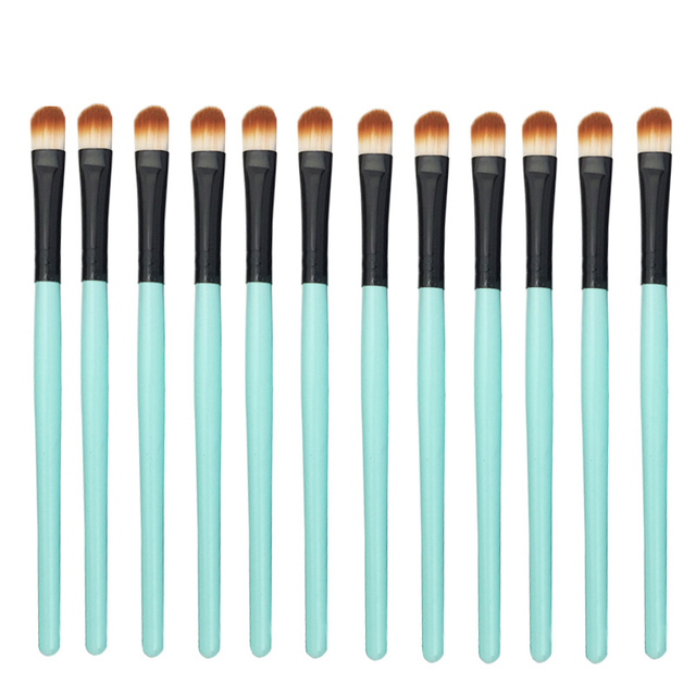 Multifunction new makeup brush 12 PCS professional mixed eye shadow eyebrow brush makeup beauty set 4