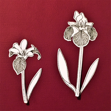 Eastshape Clivia Flower Clear Stamps and Dies Scrapbooking Metal Cutting Card Making Craft Photo Craf New