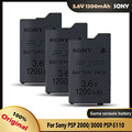 SONY 3,6 V 1200mAh аккумуляторная литиевая батарея для Sony PSP 2000/3000 PSP-S110 консоль запасная часть для джойстика батареи