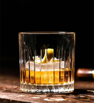 2PCS Per Unit 10oz/300ML Whiskey Glass Scotch Glasses Rocks Glass Shaped Crystal Clear Glassware Tumbler Whiskey фото