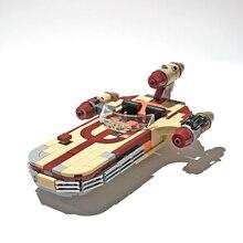 Новое поступление, Люка X-34 Sorosuub лендспидера 300 шт Мпц серии, строительные блоки, кирпич пробелом игрушки Звездных войн, по индивидуальным за...