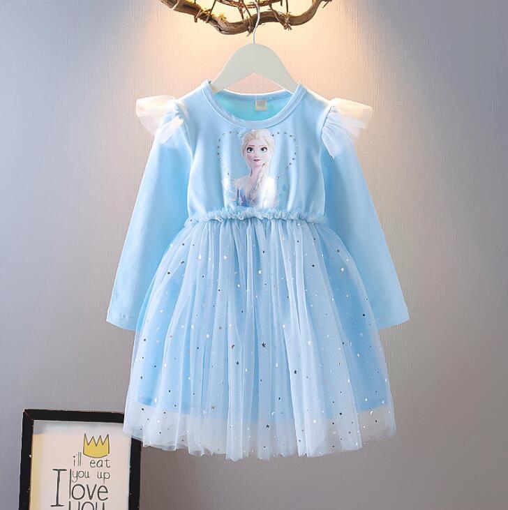 Disney meninas vestido anna cosplay traje neve rainha elsa 2 vestidos anna vestido para festa de aniversário vestir-se traje cosplay