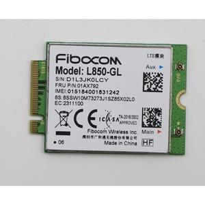 Image 5 - Fibocom L850 GL 01AX792 4g WWAN Card original Antenna for Lenovo Thinkpad T480 A485 01YR494 01YR495
