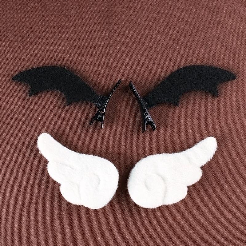 Lolita Angel & Devil Wings Hairpin  1