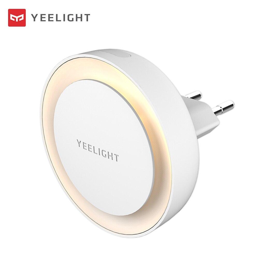 Wireless Sensor LED Night Light Mini Light Sensor Control 220V EU  Plug Nightlight Lamp Operated  Lamp For Room Hallway Pathway