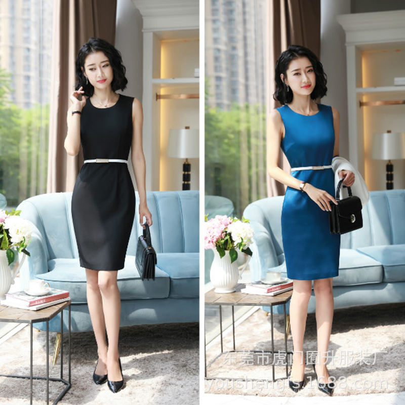 Lday Formal Dress Blazer Women Dresses with Jacket Women's  Dress Suit Set Office Wear Work for Ladies Evening Elegant Costumes