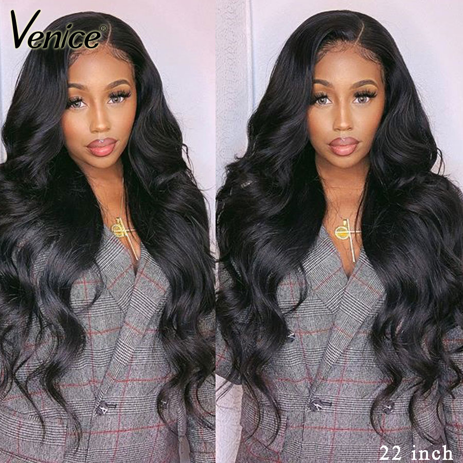 Venice Hair Lace Front Human Hair Wigs Body Wave Remy Hair Lace Frontal Wig For Black Women Pre Plucked Full Lace Human Hair Wig