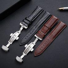 Кожаный ремешок для huawei watch gt gt2 42 46 мм honor magic
