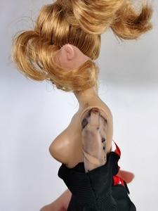 Image 5 - מכירה מוגבלת מגניב ילדה בובת 30cm Cartoon פנים יפה נשים בציר בובות (גוף לצבוע)
