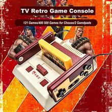 DishyKooker New Subor D99 Video Game Console Classic Family TV Video Games Consoles Player with 400 IN1+ 500 IN1 Games Cards