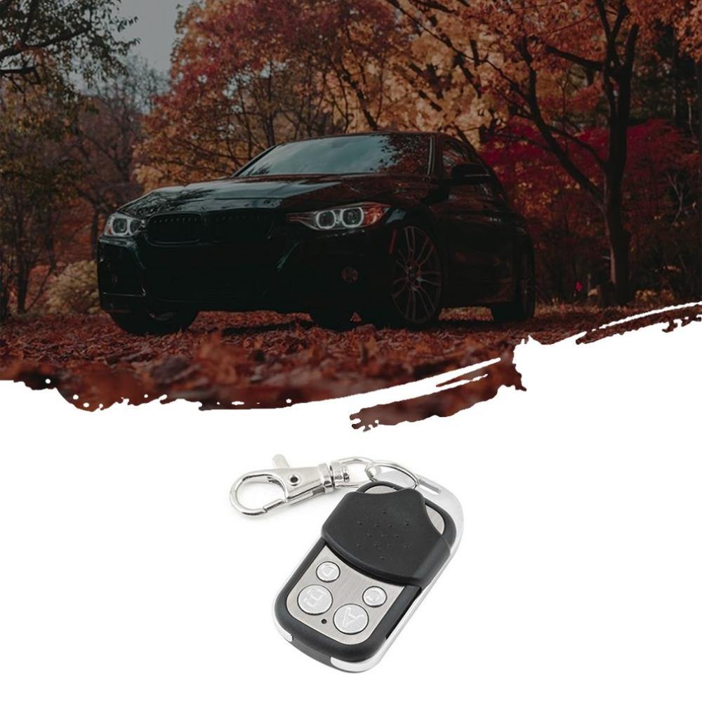 New Metal Four-key Garage Door Universal Copy Remote Control Wireless Copy Remote Control Long Distance