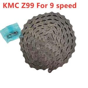 Image 5 - KMC Z99 Z9 dla 9 prędkości 116L do roweru szosowego i górskiego łańcuch rowerowy 27 prędkości składane rowerowe łańcuchy BMX z magicznym łańcuchem Z9 rower MTB
