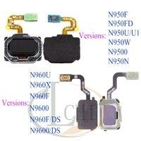 터치 ID 삼성 Note 8 홈 메뉴 버튼 플렉스 케이블 리본 교체 부품 삼성 Note 9 지문 센서 N950