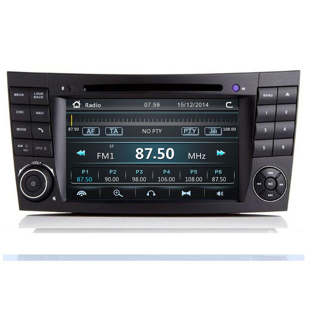 Последний IPS Сенсорный автомобильный dvd плеер с экраном для Mercedes Benz E Class W211 E200 E220 E300 E350 maos Radio camera 2020