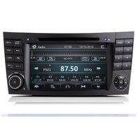 2020 Latest IPS Touch Screen Car DVD Player For Mercedes Benz E Class W211 E200 E220 E300 E350 maos Radio camera